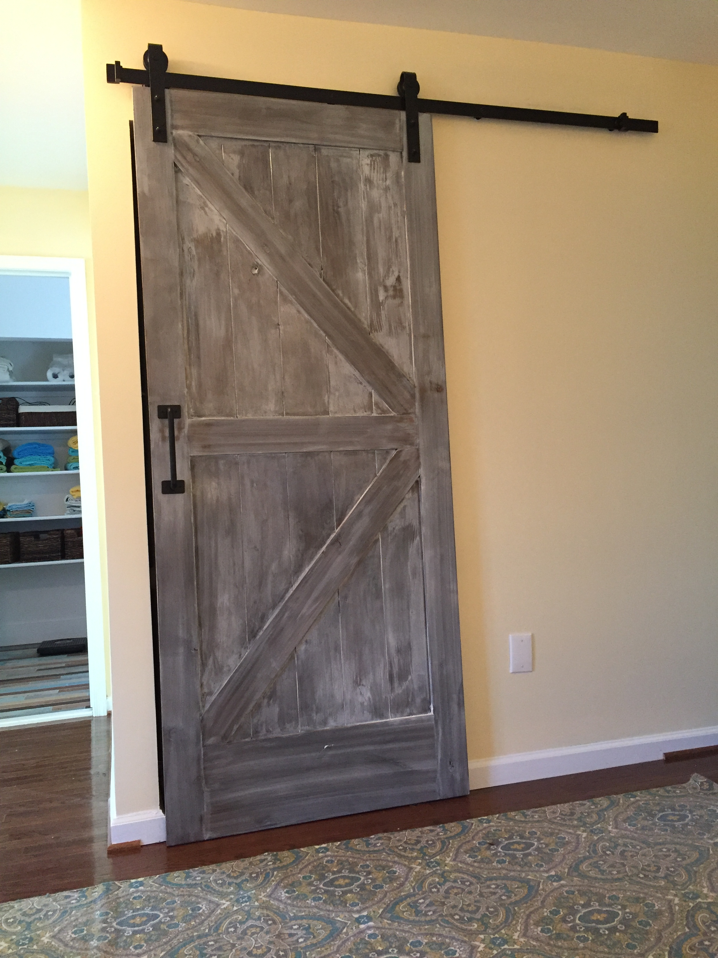 Beautiful Barn Door Fairfax Carbide Construction