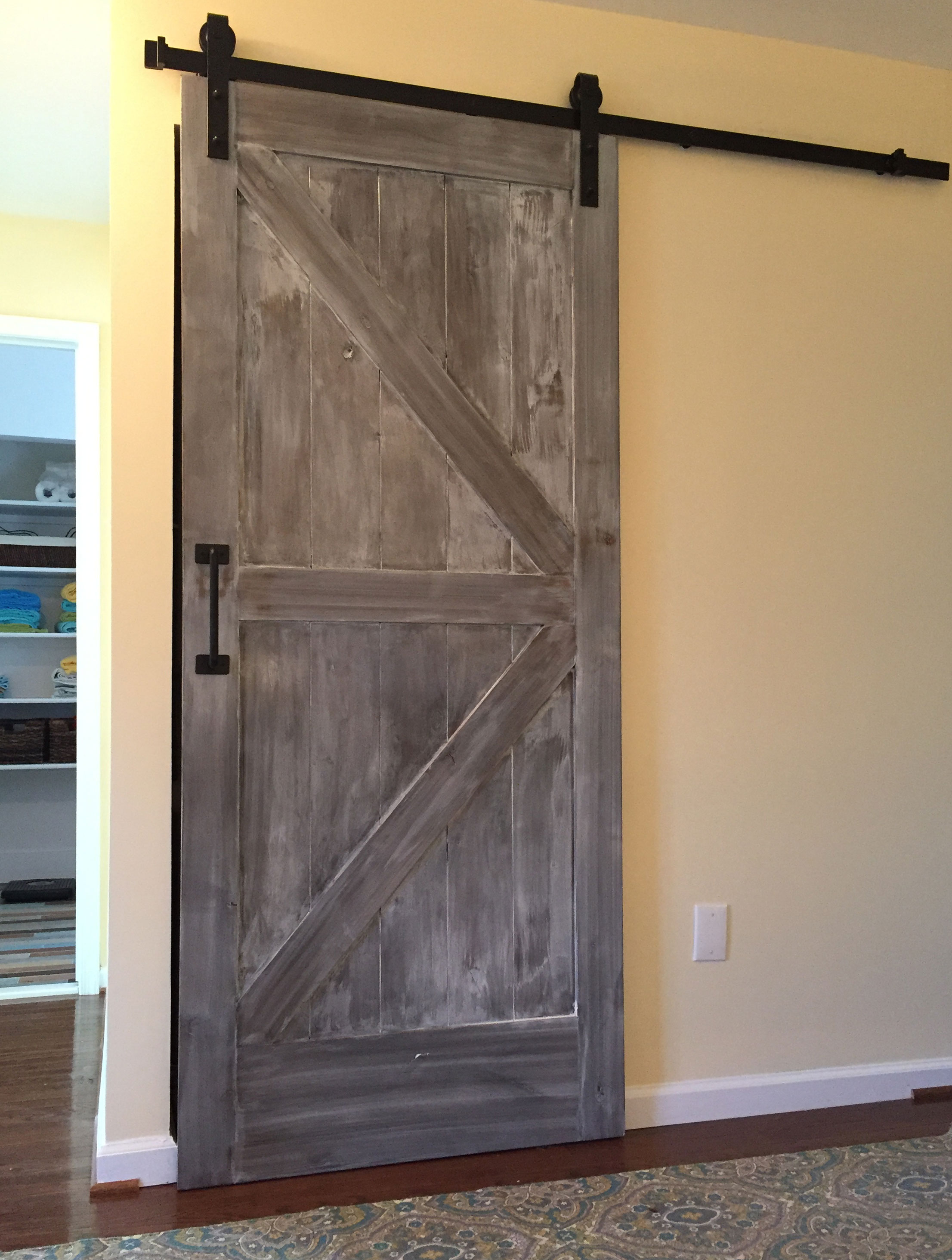 Custom Home Add Ons Extra Storage Sliding Barn Door Va