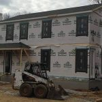 Carbide Construction Current Project Alexandria Teran Shingles Installed