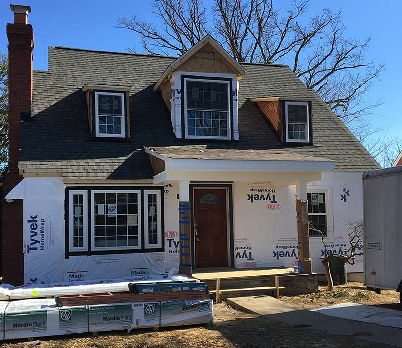 Falls church va modular home addition carbide construction for Modular in law suite additions
