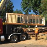 Arlington Modular Home | Starting over the Foundation