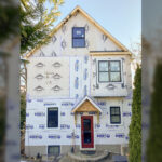 Arlington second story addition during